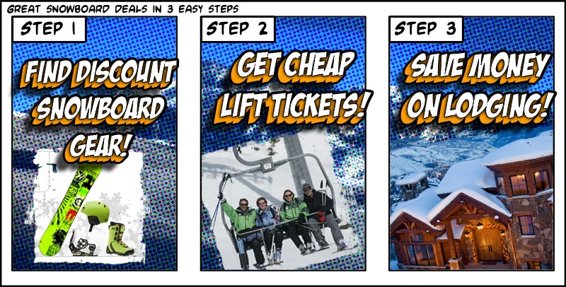Snowboard Deals Comic